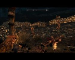 The Biggest Random Battle Ive Ever Seen in Skyrim